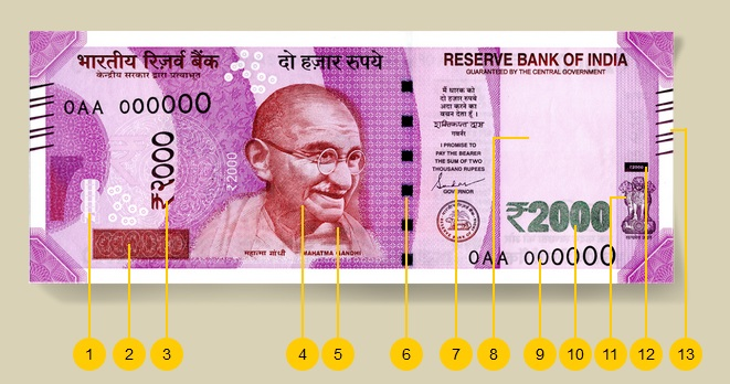 2000 note ban