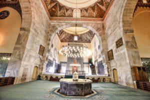 Turkey Green mosque